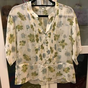 SALE Banana Republic Floral Shirt